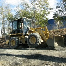 Pronto Hire Cat loader machinery
