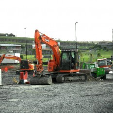 Pronto Hire Machines on Site Millwater