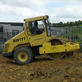Pronto Hire Bomag BW177 Roller