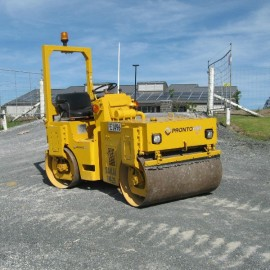 Pronto Hire SW25 Double Drum Roller