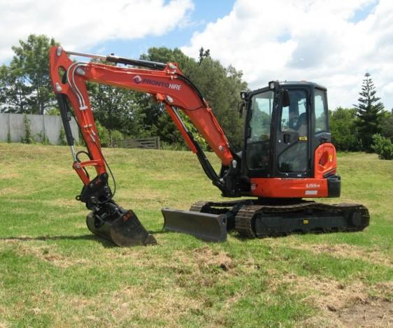 Pronto Hire Kubota U55-4 Excavator