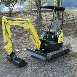 Pronto Hire Yanmar Vio15 Mini Excavator