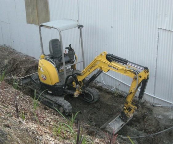 Pronto Hire Yanmar Vio20-3 Excavator