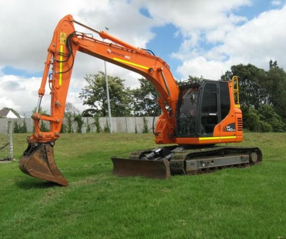 Pronto Hire Doosan DX140 Excavator