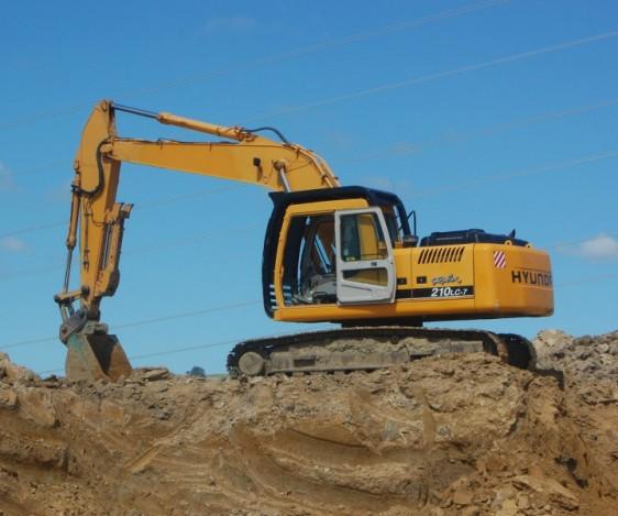 Pronto Hire Hyundai Robex 210 Excavator