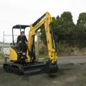 Pronto Hire Yanmar Vio25 Excavator Front