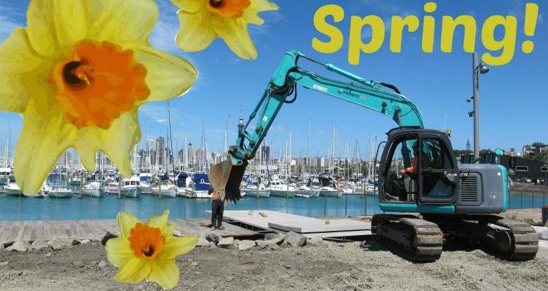 Pronto Hire Spring is upon us