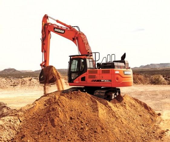 Doosan DX300 Excavator Pronto Hire