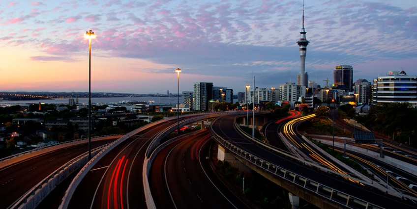 Auckland City Lights Pronto Hire
