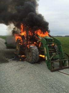 Unlucky Farmer Bird Nest Fire