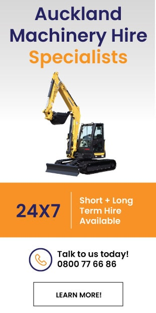 machinery hire auckland