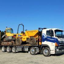 machinery hire delivery