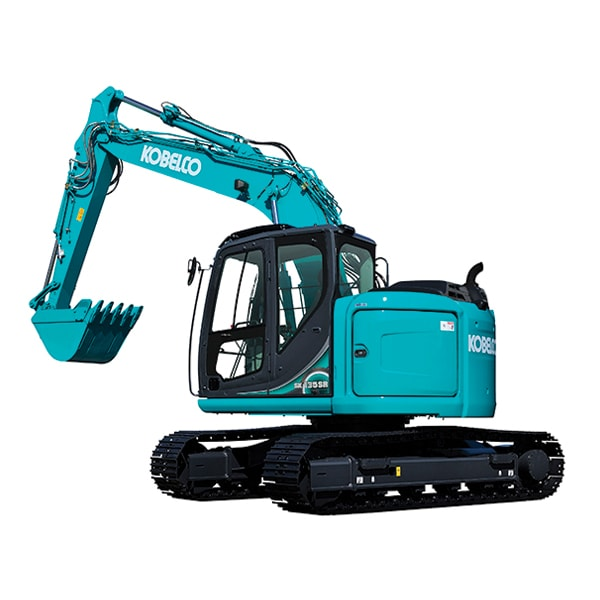 12 Ton Excavator Rubber Tracks hire