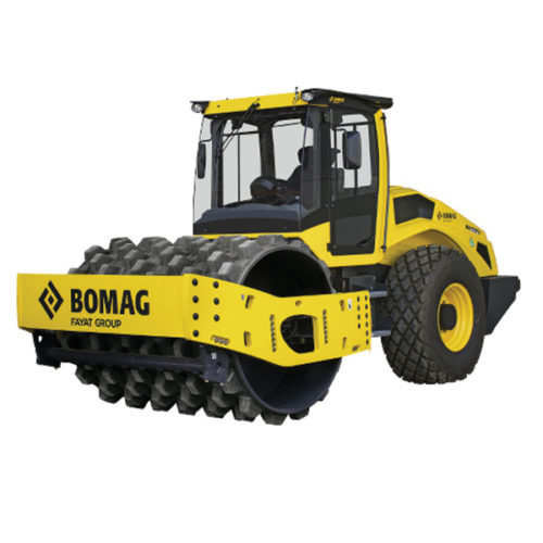 BOMAG Padfoot Roller 12 Ton Hire