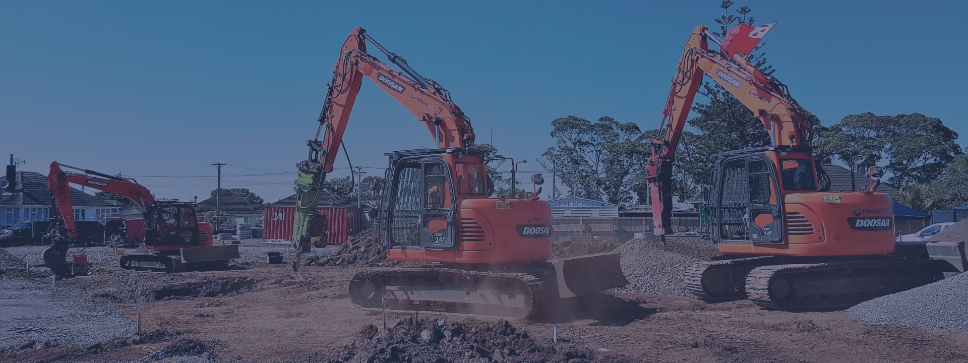 Large Machine Hire